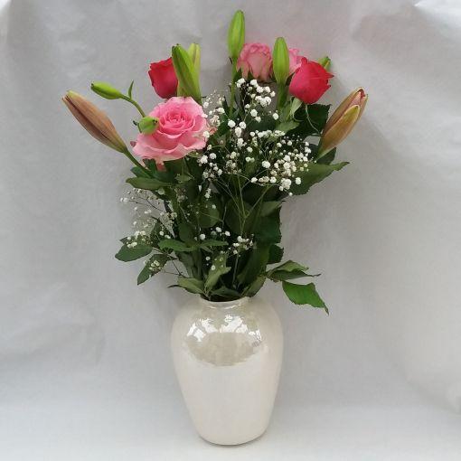 Pearl vase