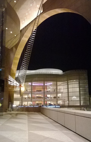 View from Segerstrom Hall in Costa Mesa, CA. Photo by M.C.