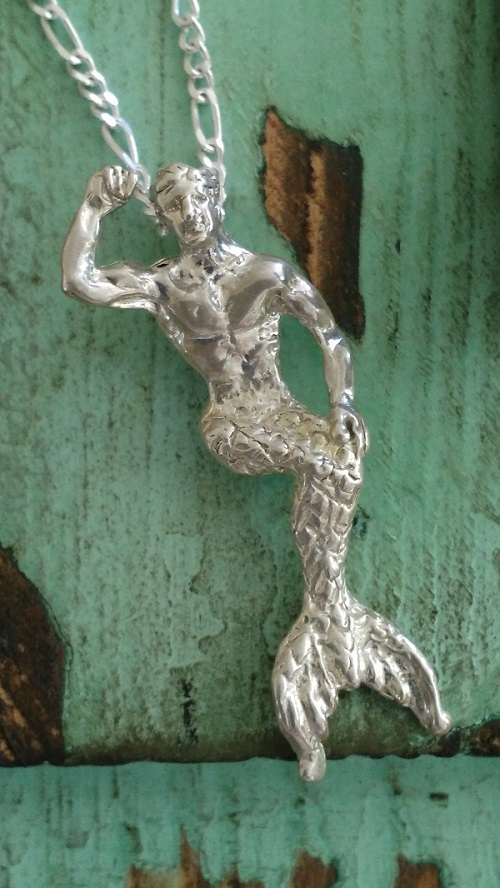 Post 75 Winter Fantasy Sawdust Merman