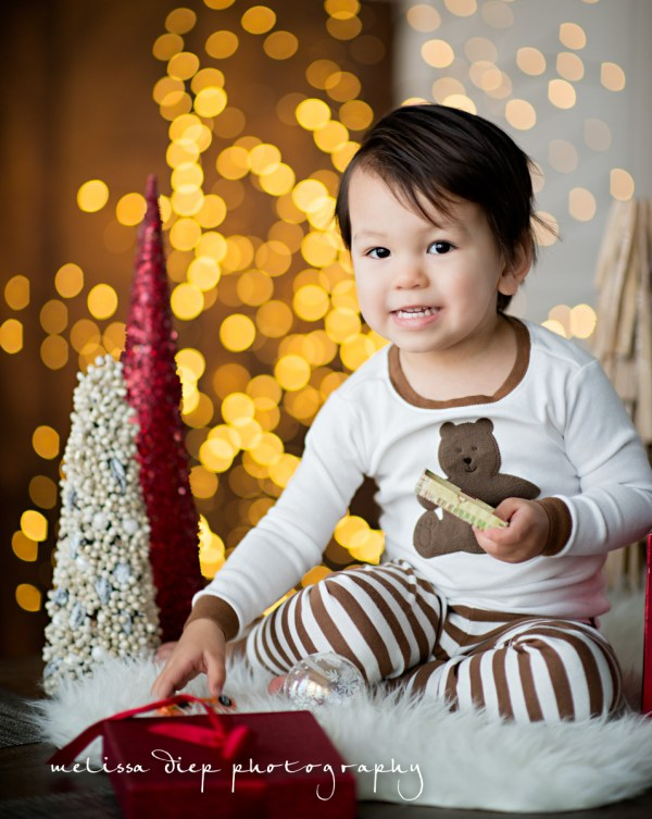 Unique Baby Holiday CardEasy Photography Tips