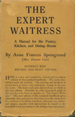 The Expert Waitress