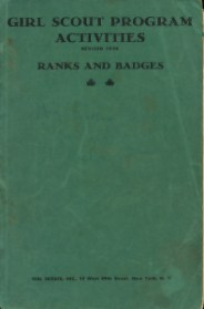 Girl Scout Program Activities: Ranks and Badges