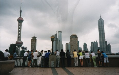plant boy_Shanghai skyline