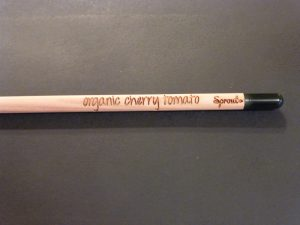 SproutWord Organic Cherry Tomato pencil
