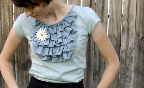 ruffle shirt completed 2