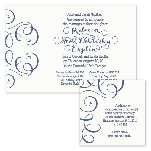 Esplin godfrey wedding invitation i still love you by melissa esplin rebecca stopboris Images