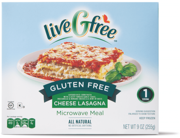 ALDI GF Cheese-Lasagna