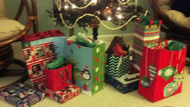 Christmas Eve - presents