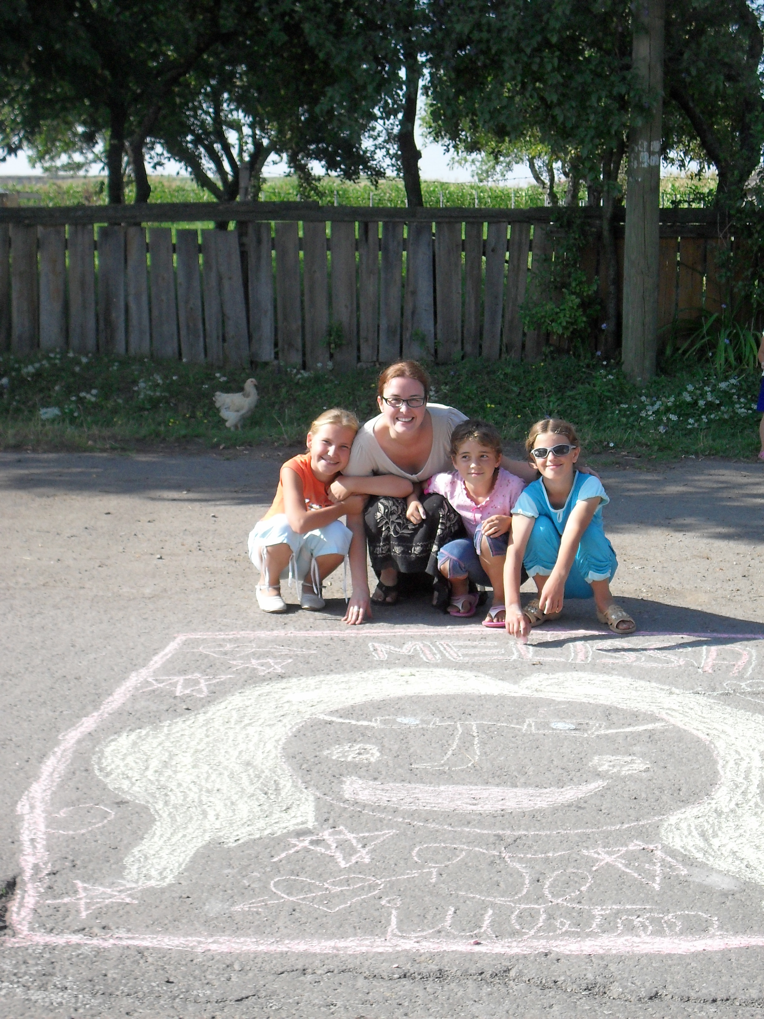 Yes, that is me in chalk.
