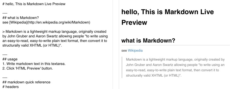 Module 1 Exercise 1: Learn Markdown With Dillinger