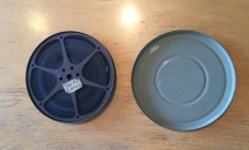 Close up of a Film Reel