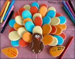 Turkey Platter inspired by Sweet Sugarbelle