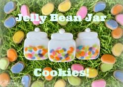 Jelly Bean Jar Cookies