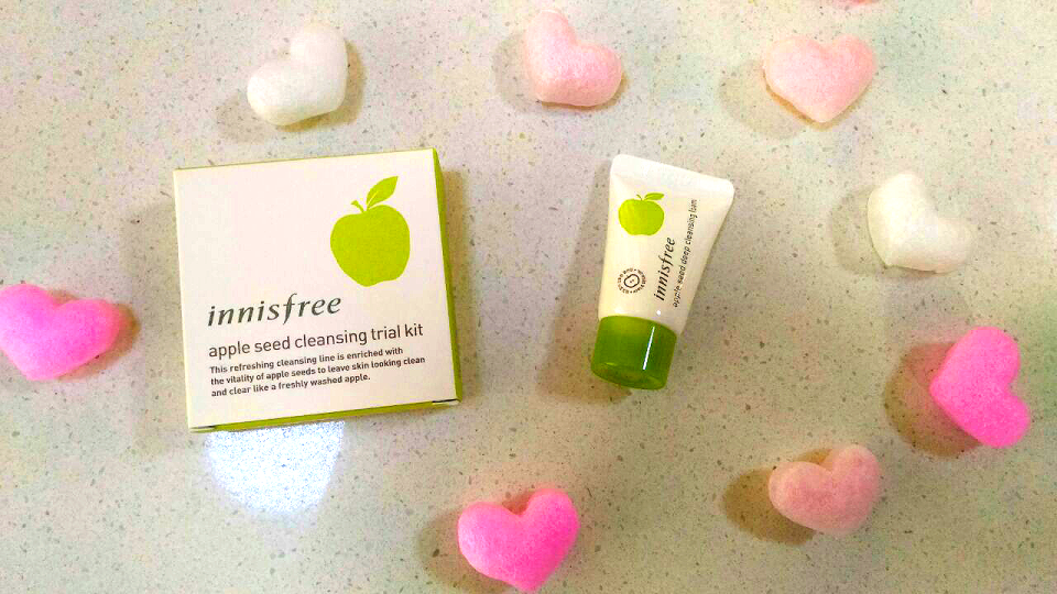 Beauty Review: Innisfree's Apple Seed Deep Cleansing Foam