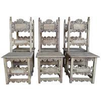 Set of 18th Century Italian Dining Chairs | Melissa ...