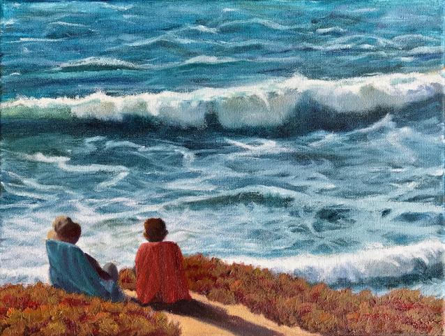 Waves Beach Santa Cruz