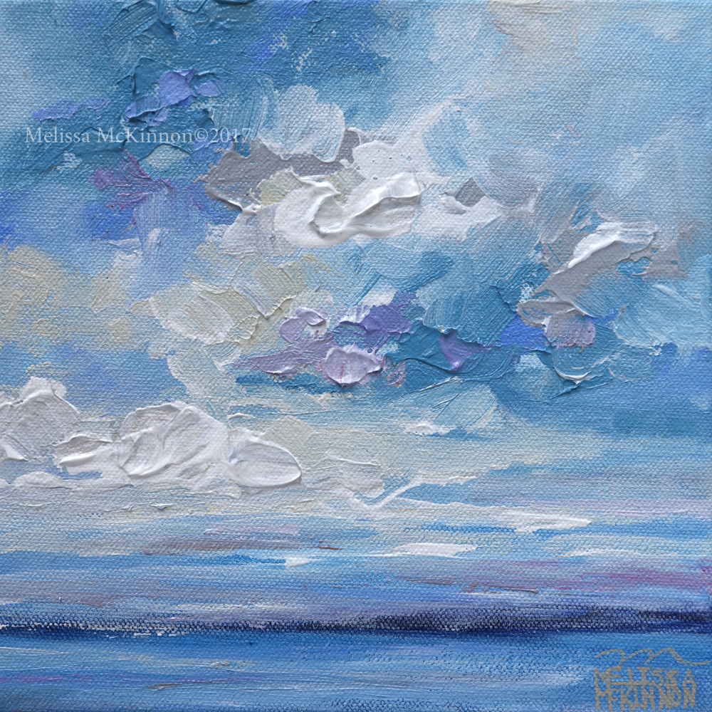 Abstract Acrylic Landscape Paintings