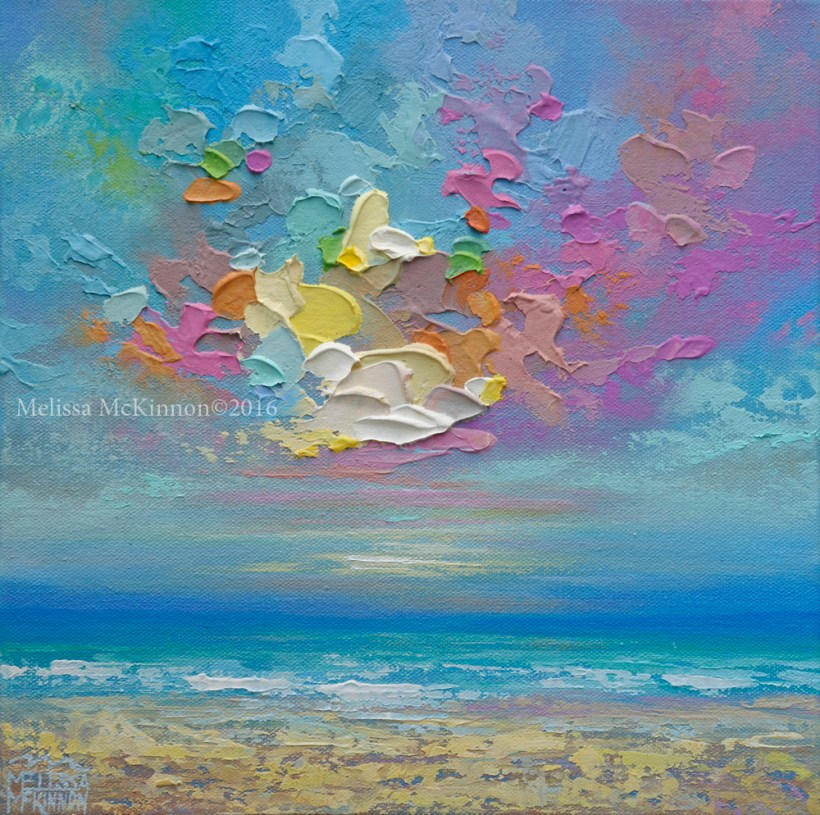 Abstract Beach Art Painting