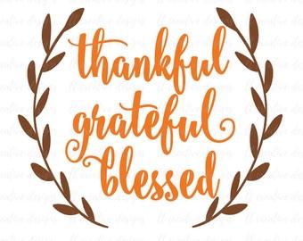 Thankful for amazing grace