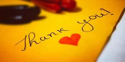 Paper Gratitude Challenge Gratitude List