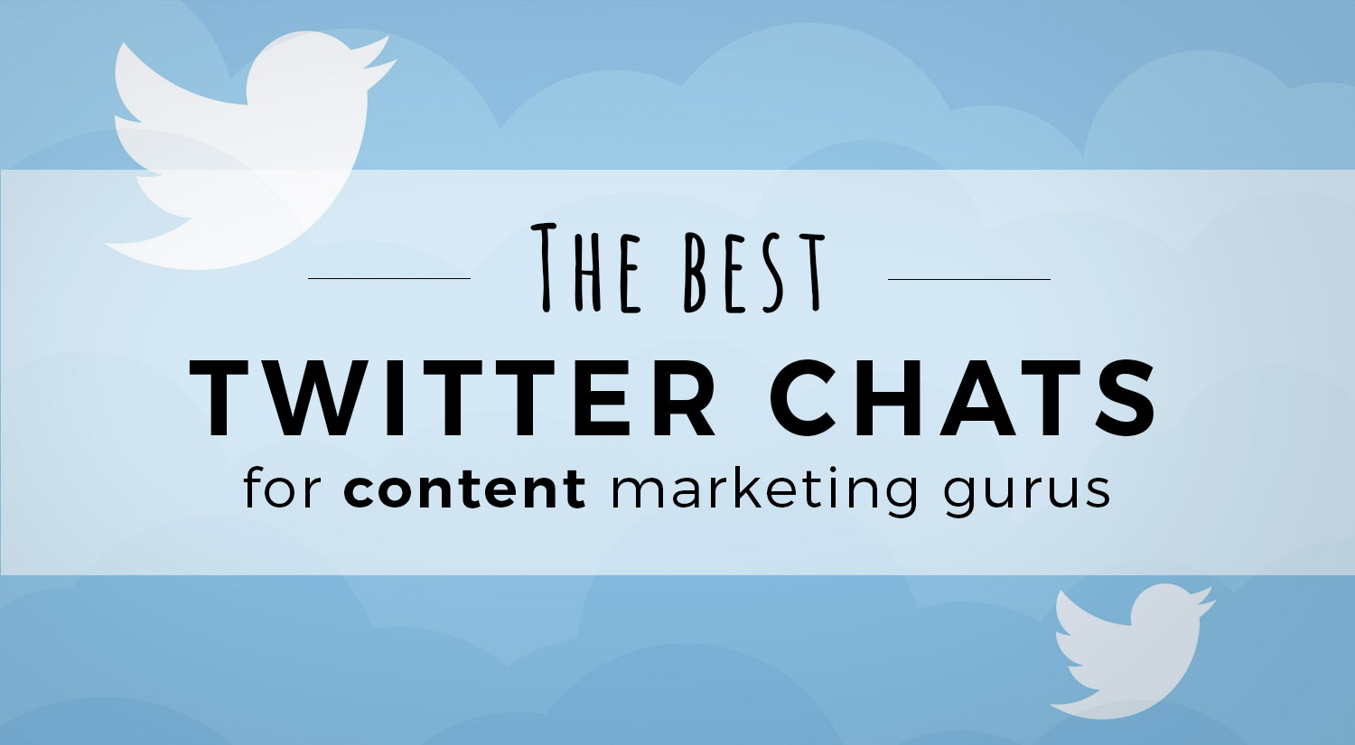 Twitter Chats for Content Marketers