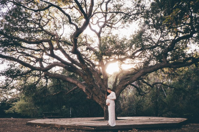 Maternity Photos: Topanga State Park