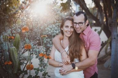 ENGAGEMENT photos: Cactus Garden, Balboa Park
