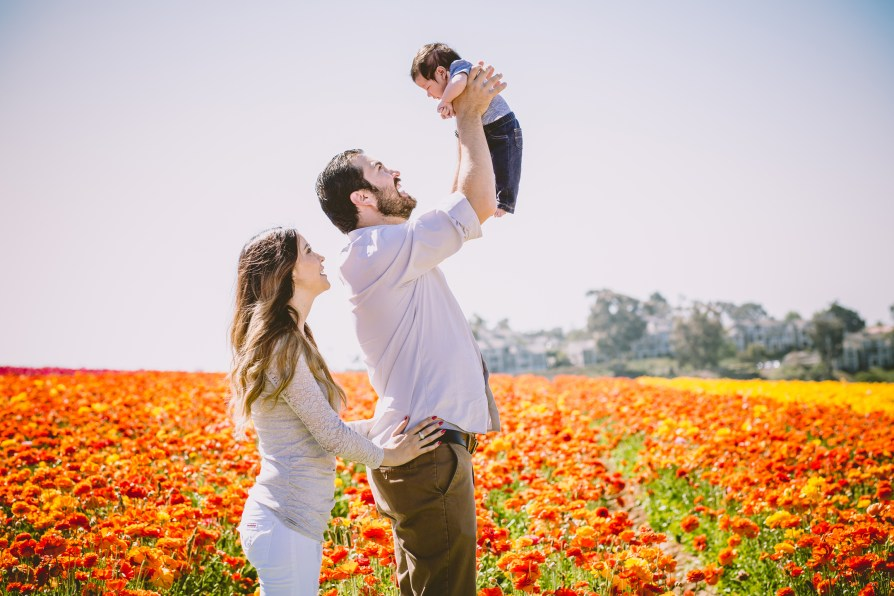 FAMILY photos: Carlsbad Flower Fields