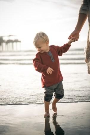 FAMILY photos: Scripps Pier, La Jolla