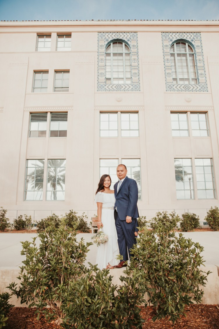 WEDDING photos: San Diego Courthouse