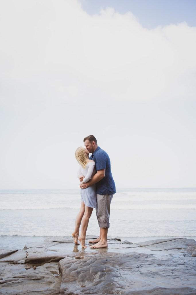 ENGAGEMENT photos: Scripps Beach