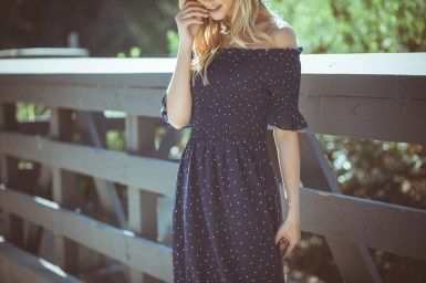 COMMERCIAL photos: PinkBlush Polka Dot Dress