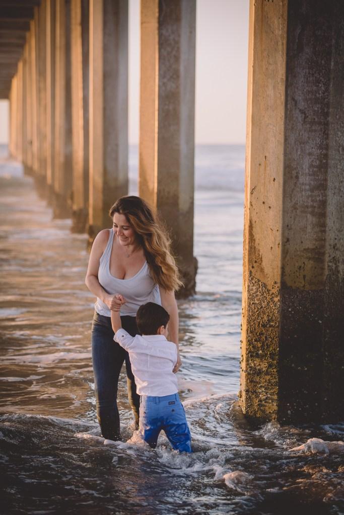 FAMILY photos: Scripps Beach, San Diego