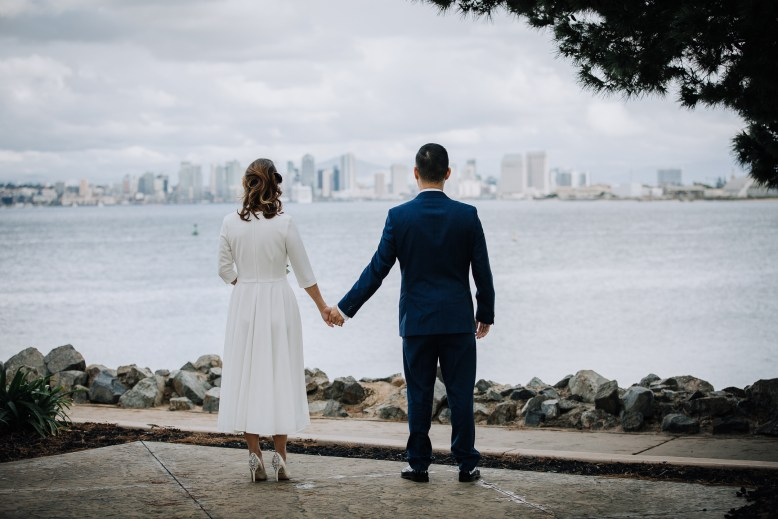 WEDDING photos: San Diego County Courthouse wedding