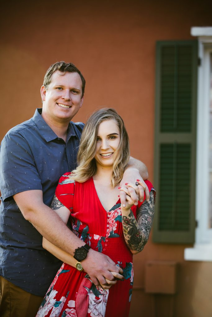 ENGAGEMENT photos: Old Town, San Diego
