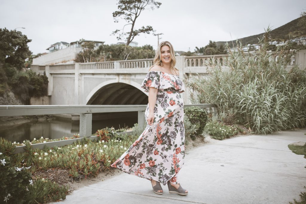 COMMERCIAL photos: PinkBlush Maxi Maternity Dress