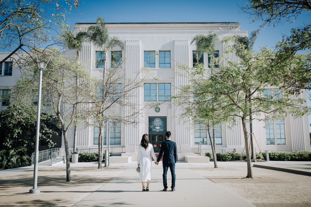 WEDDING photos: San Diego County Administration Building