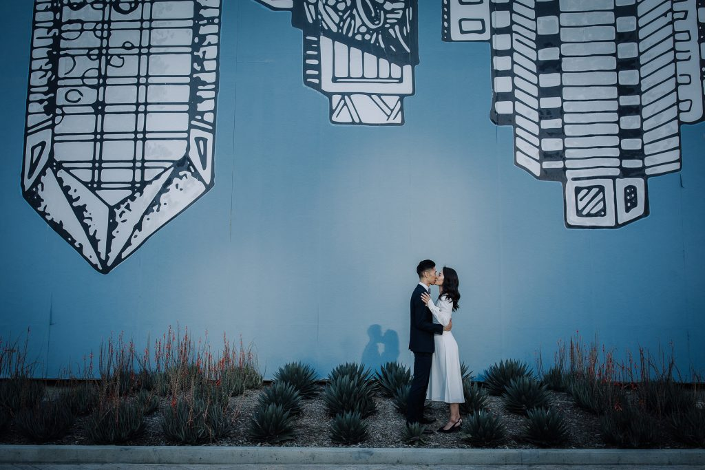 WEDDING photos: San Diego County Administration Building Kelsey Montague Art