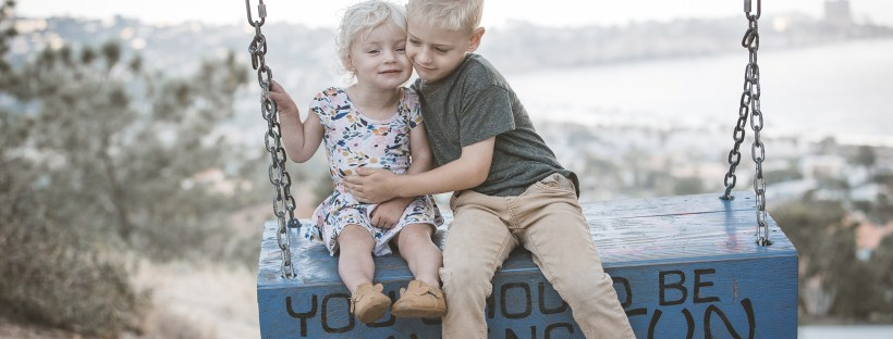 KIDS FAMILY photos: Scripps Woods Swing La Jolla