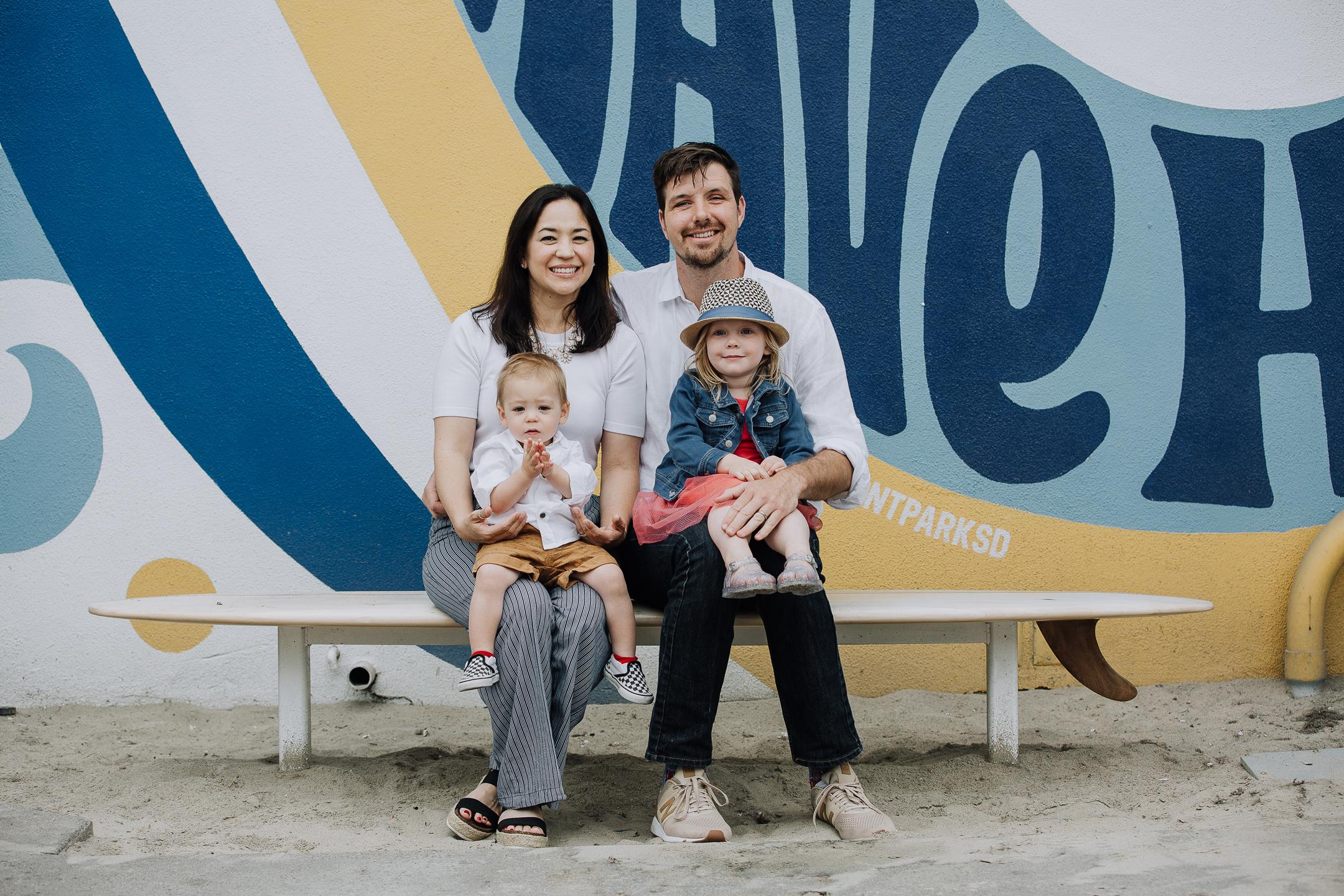 FAMILY photos: Belmont Park, Mission Beach