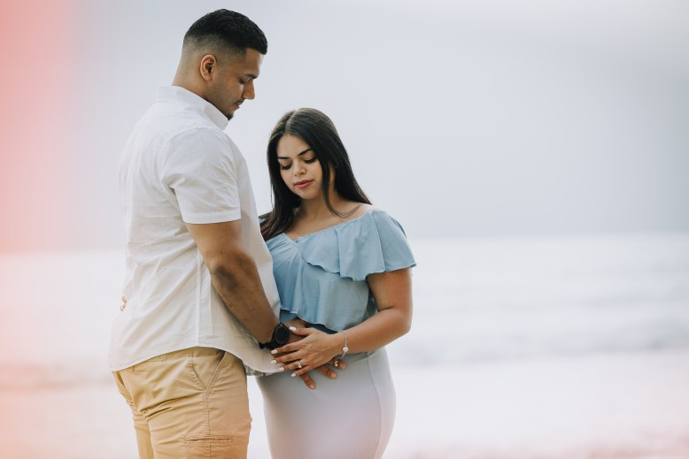 MATERNITY photos: Scripps Beach, La Jolla, CA