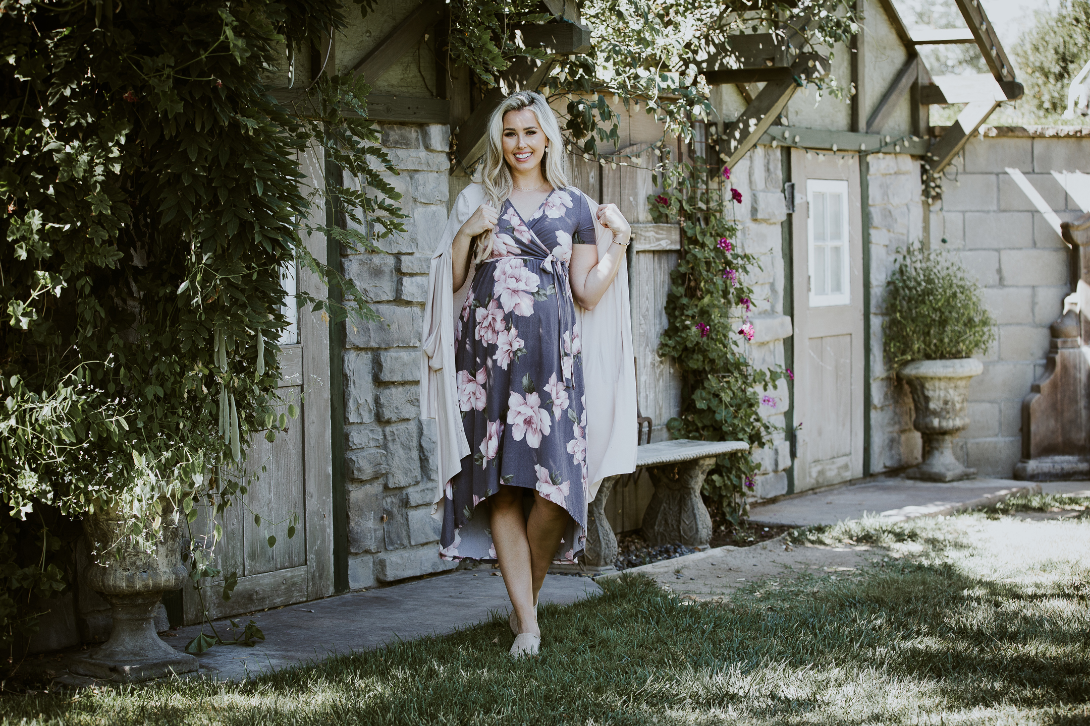 COMMERCIAL photos: PinkBlush Maternity Fall Maxi Dresses