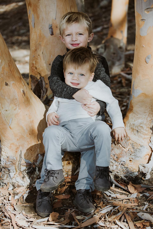 FAMILY photos: Scripps Beach + Woods