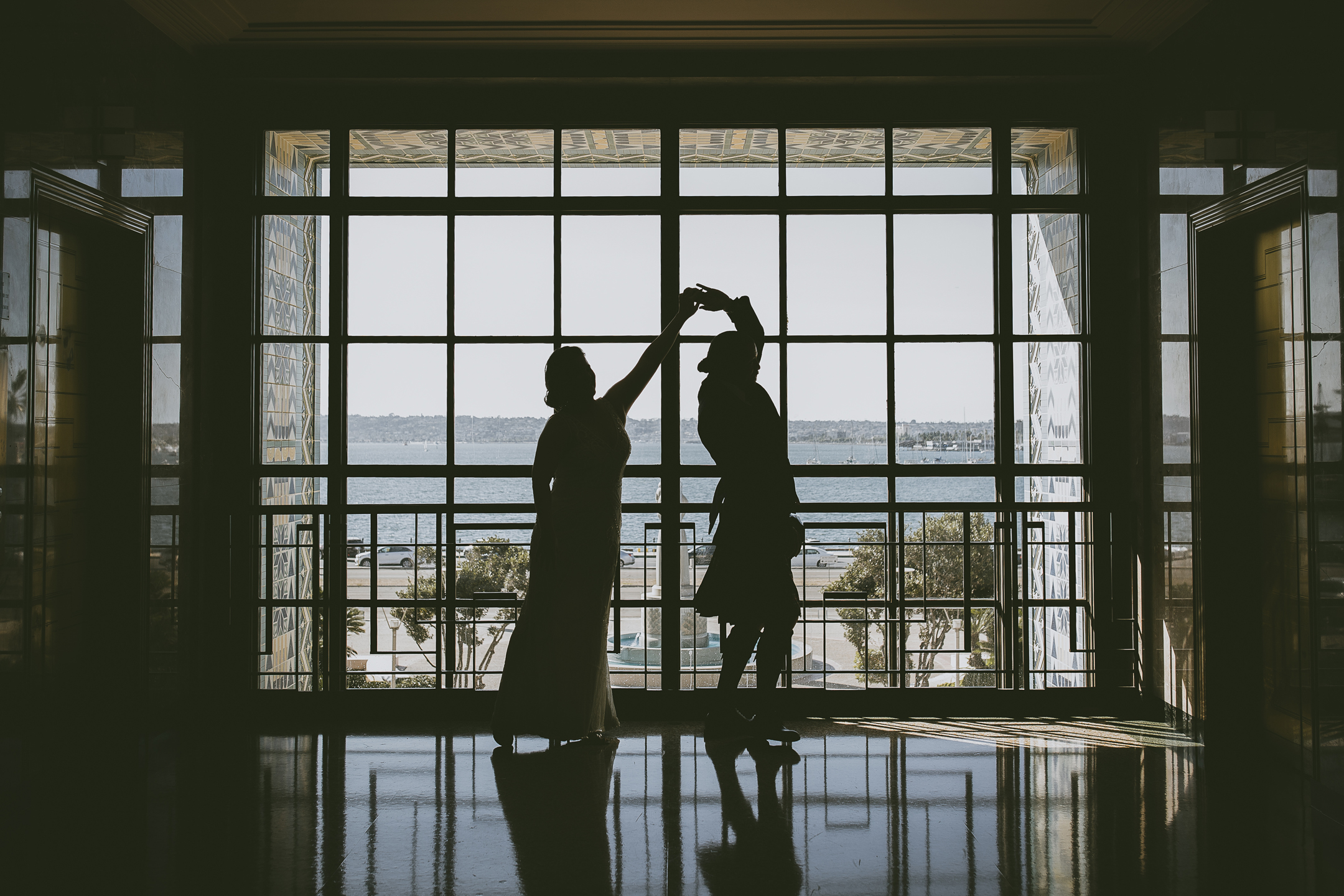 WEDDING photos: San Diego Courthouse + Star of India