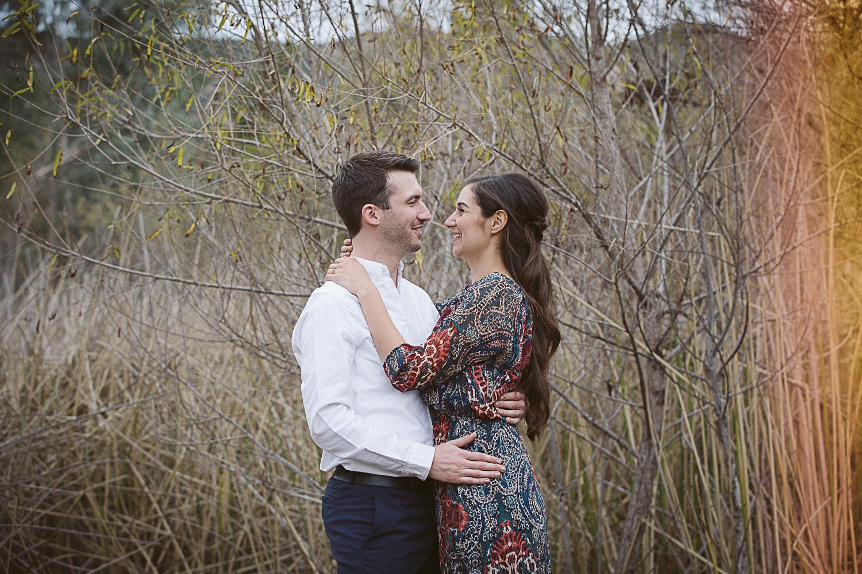 Lake Hodges Engagement Photos