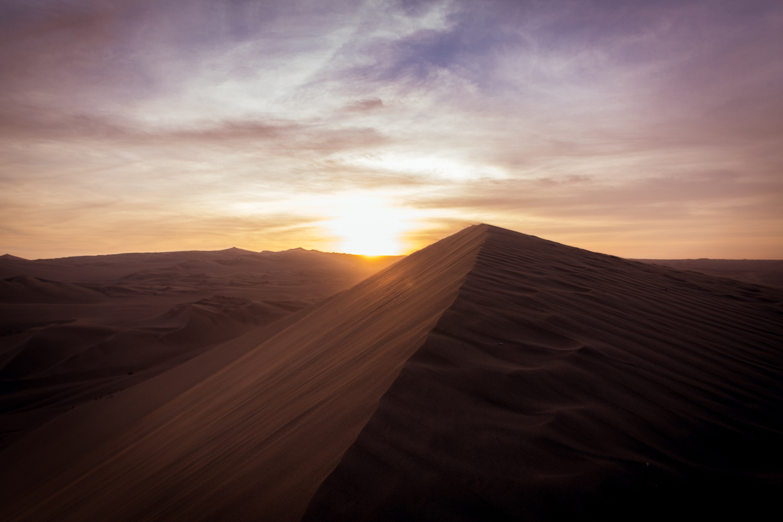 Huacachina sunset Ica Peru