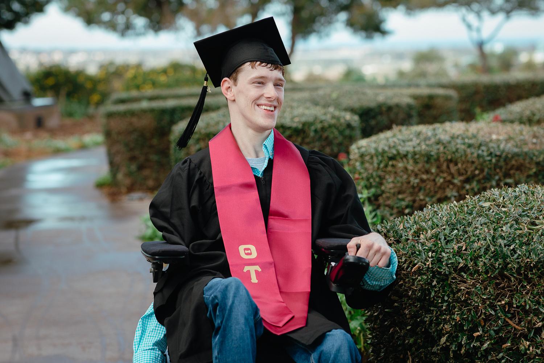 University of San Diego Grad Portrait Photos