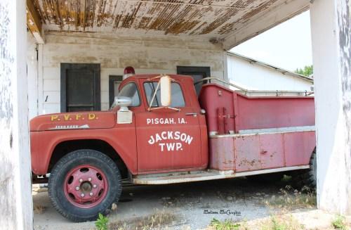 Pisgah, IA Fire Truck
