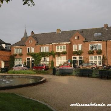 Praça da cidade em Naarden