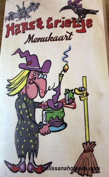 Panquecaria de contos de fada na Holanda